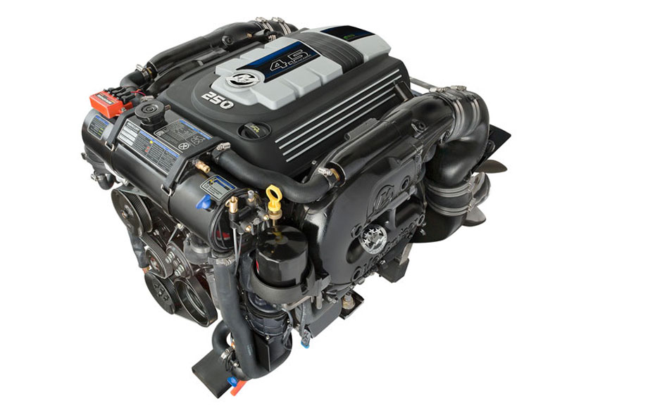 New Mercruiser 4 5l V6 250 Hp Simple Compact Strong Boatmag International