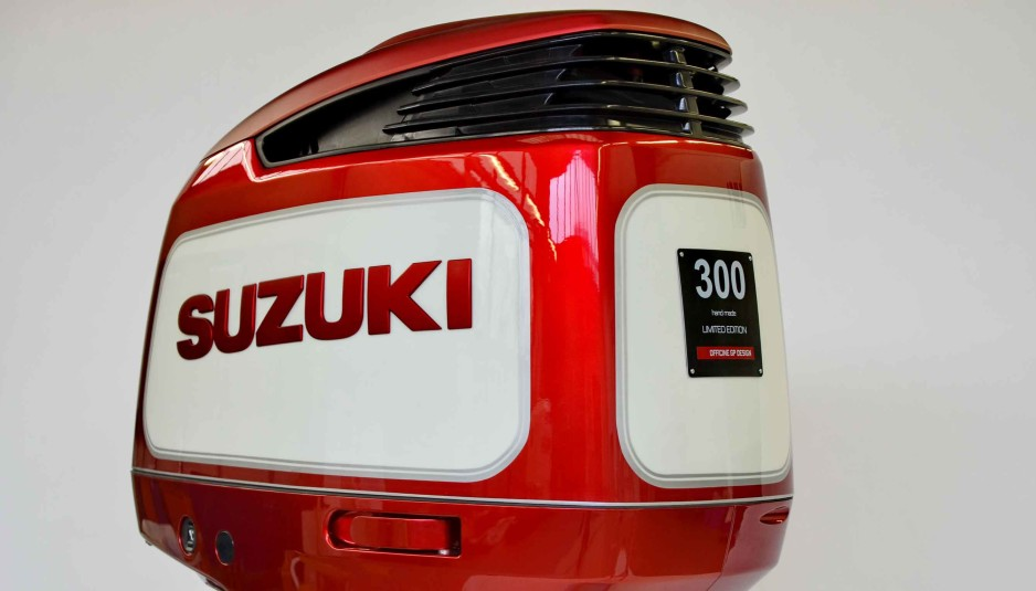 suzuki df300ap : the outboard goes out of the ordinary