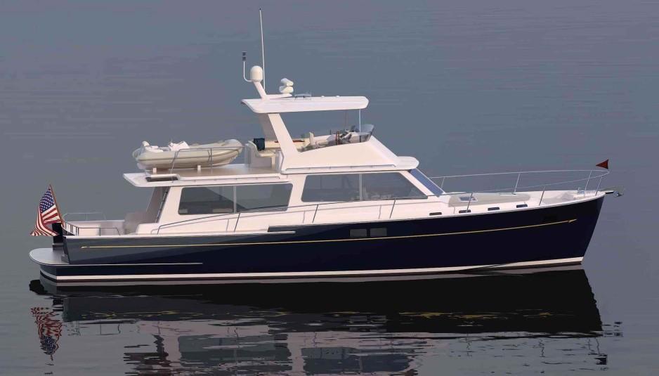 Zurn Yacht Design: trawler, made in USA - Boatmag International