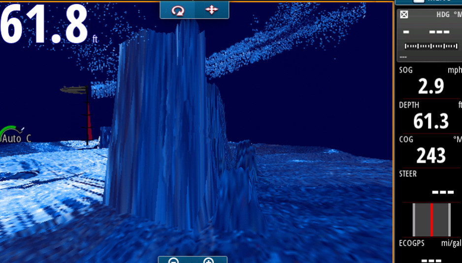 Watch The Sea Bottom In 3d With The New Structurescan 3d