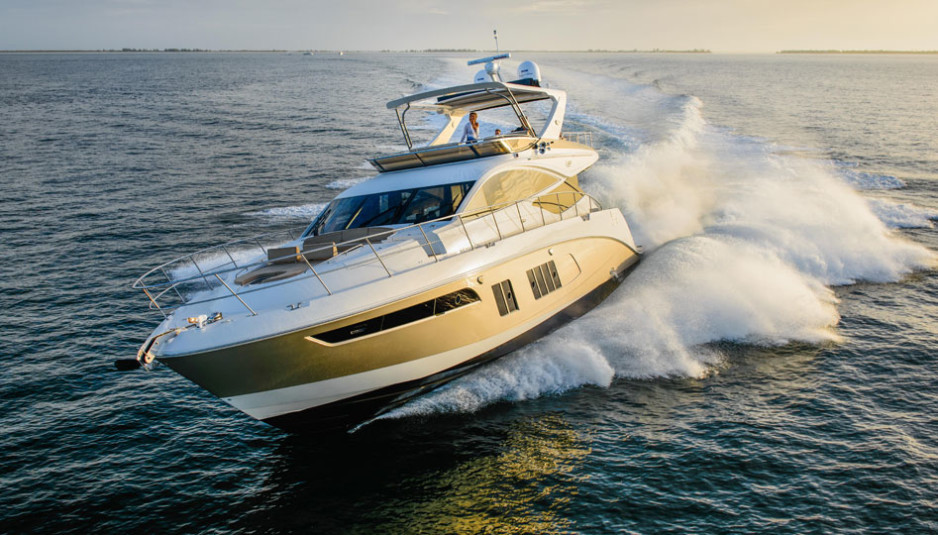 Volvo Penta Marine Engines Sea Ray L 650 Fly is another step up the ladder