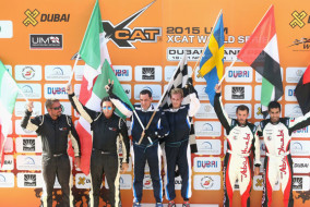 UIM XCAT World Series - Round 5, Dubai GP - Day 3