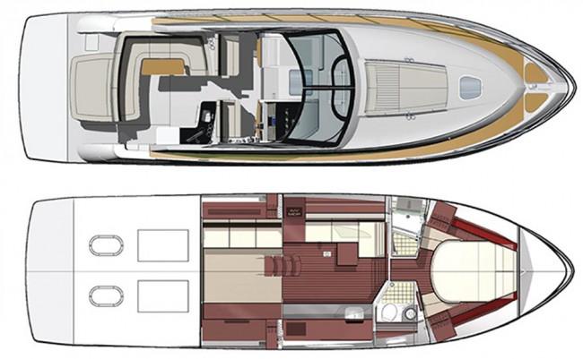 Sea-Ray-450-Sundancer-Layout-650x401