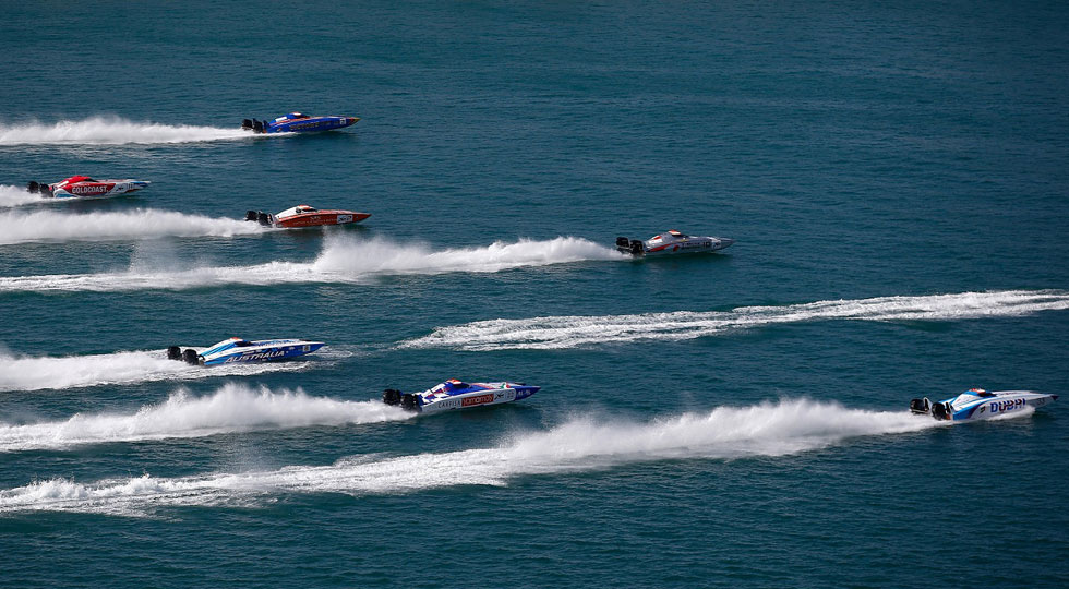 UIM XCAT World Series 2016 - Round 2, Dubai GP - Day 2