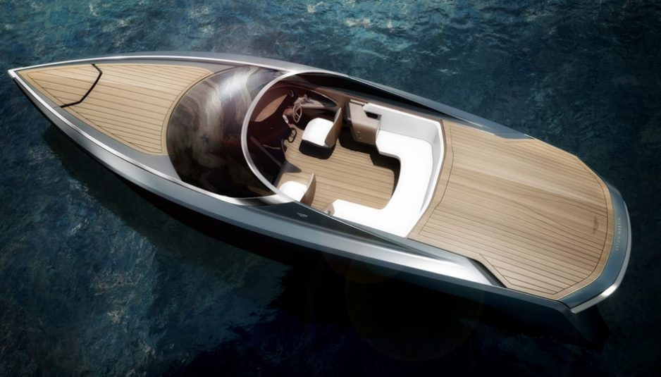 Am37 Is The First Boat To Carry The Aston Martin Name Boatmag