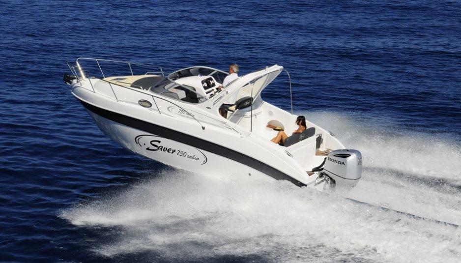 saver at genoa boat show