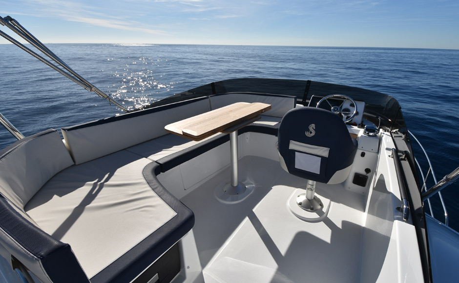 We tested Beneteau Swift Trawler 35, and it's more than before