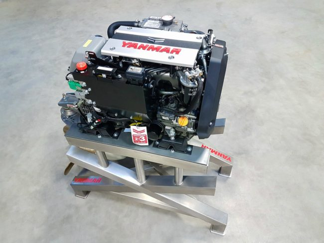 YANMAR Launches 3JH40 – world's smallest CR Inboard Marine Diesel