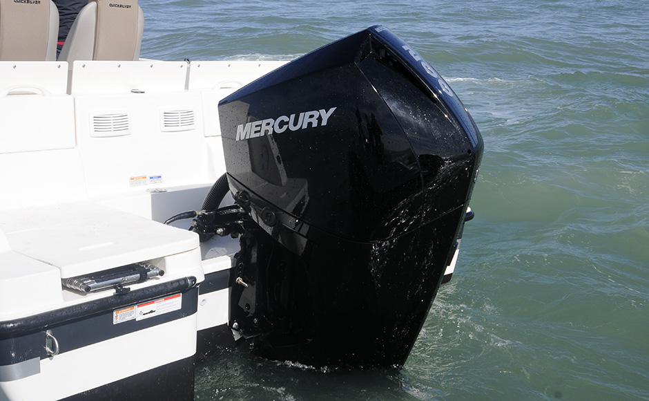 Mercury V6 Four Stroke: you have performance, but keep an eye on