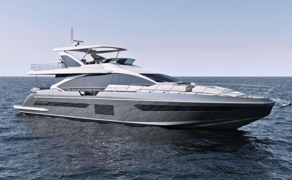 Azimut Grande 25 M The New Italian Yacht Bets On Informality