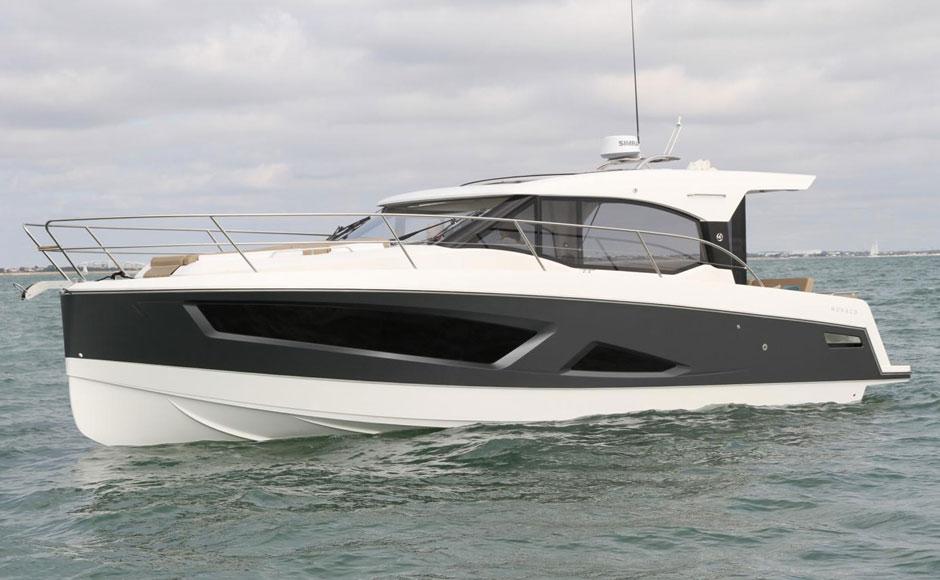 Parker Monaco, the last frontier of outboard motors
