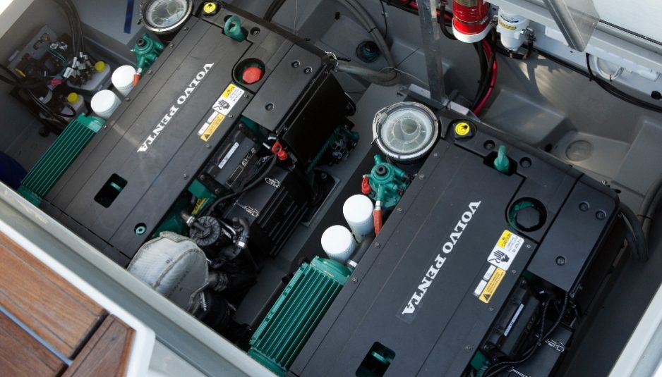 Volvo Penta D4 and D6 engines get more power, improvements