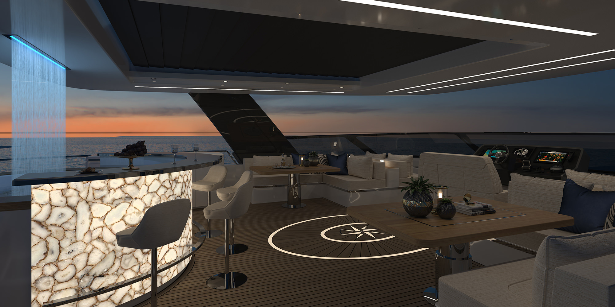 The Choice Of Rafael Nadal Sunreef Power 80 Is A Palace On The Sea