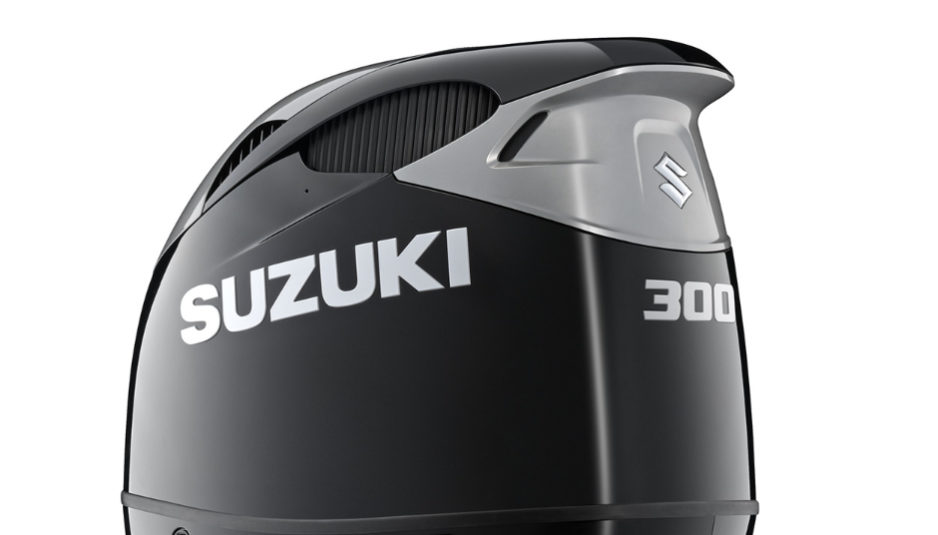 Meet the all-new Suzuki DF300B, outboard engine with dual