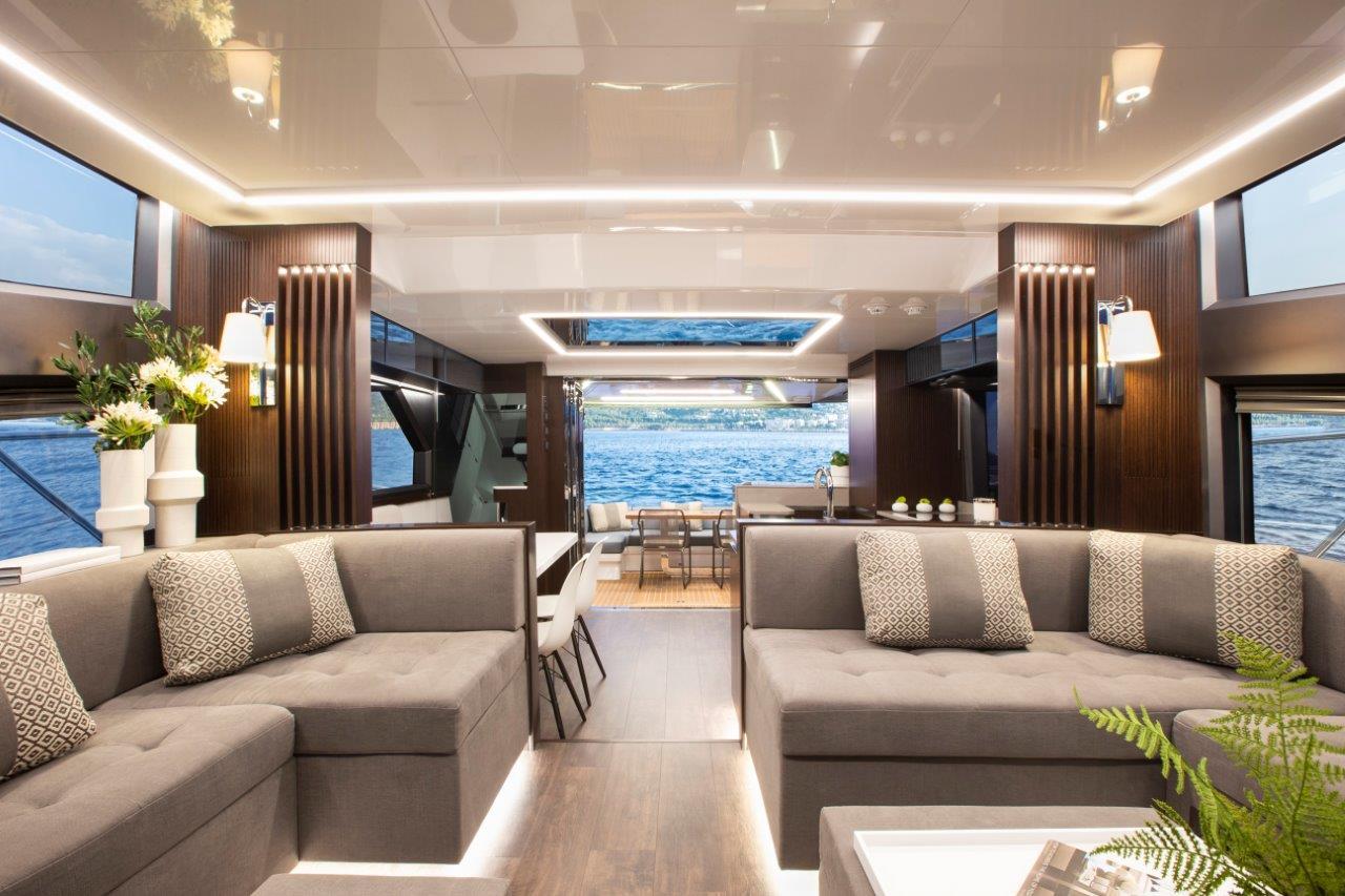 Pearl Yachts 62 Luxury Kelly Hoppen