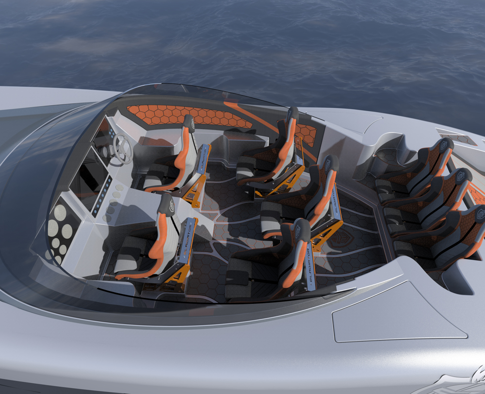 canados gladiator carbon series mercury racing
