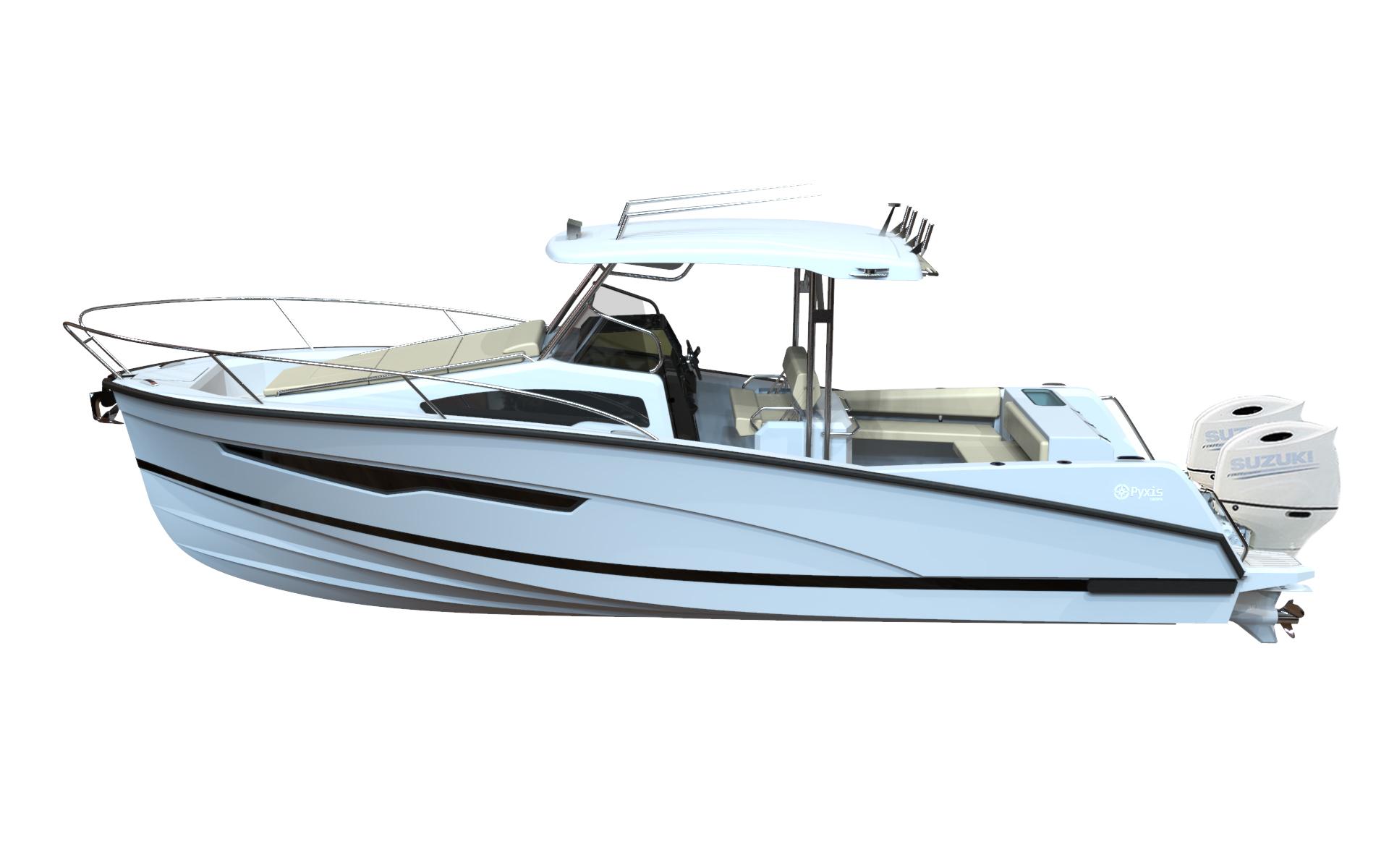 pyxis 30 wa fishing cruiser