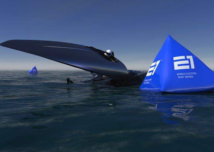 UIM E1 electric powerboat racing racebird victory marine seabird agag