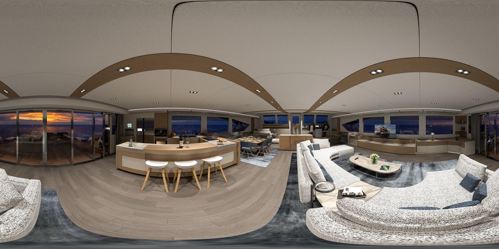 alva yachts ocean eco 90 interiors
