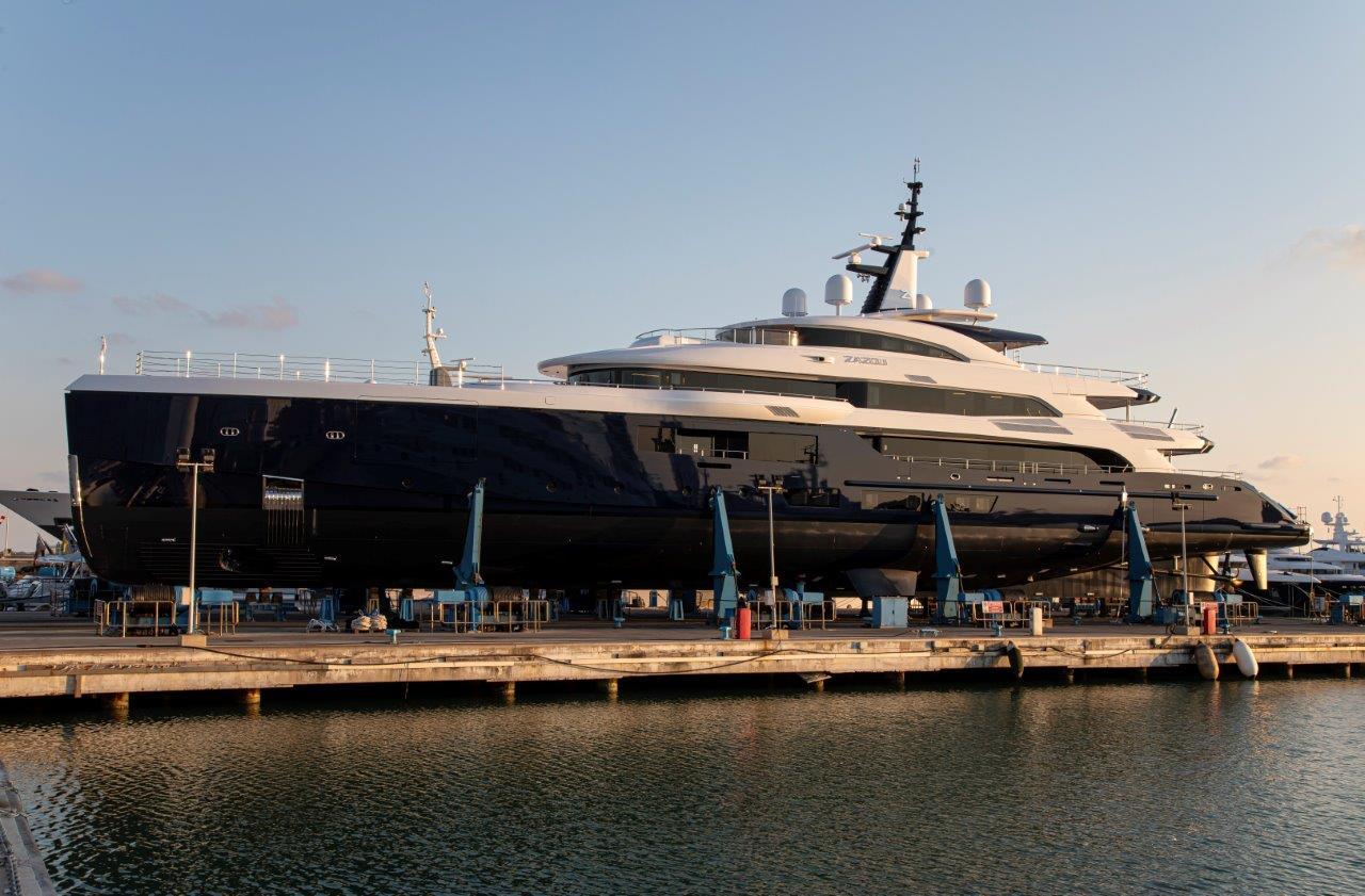 benetti launch 65 meter zazou delfino 95