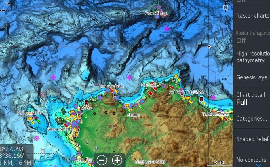 c-map reveal lowrance simrad maps chartplotter