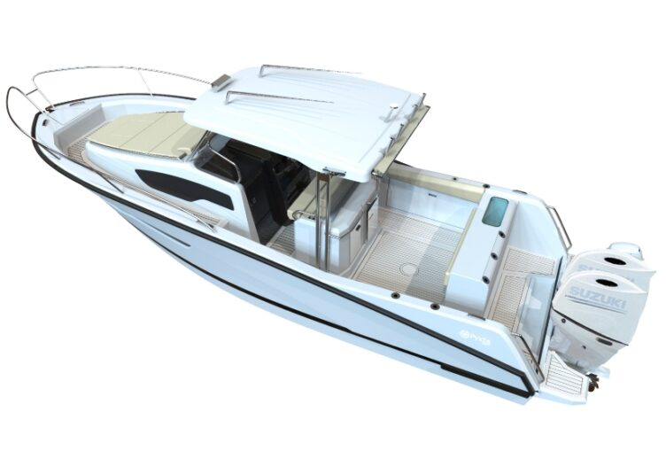 Tuccoli T210 is the entry-level fishing boat which lacks nothing, not even an offer to be taken immediately