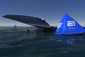 UIM E1 electric powerboat racing racebird victory marine seabird agag