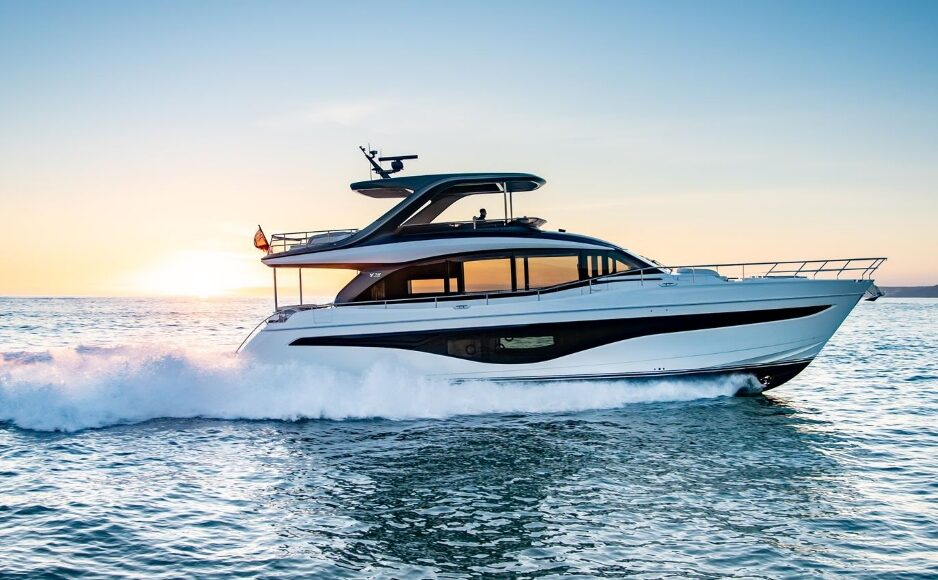 princess y72 lvmh flybridge